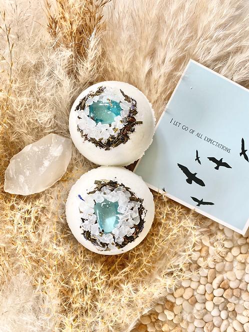 Soak + Sea - SOUL Blue Obsidian Bath Bomb