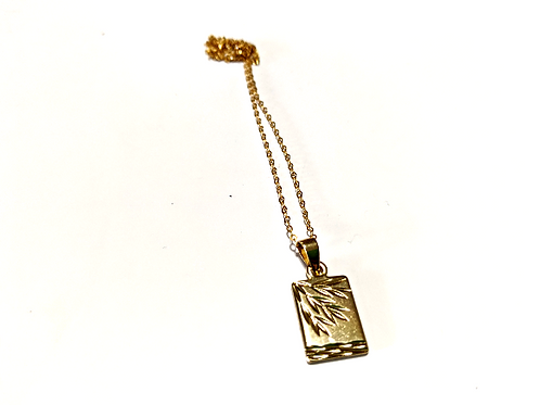 Jewelry By Amanda - 14k Gold Fill Sprig Necklace