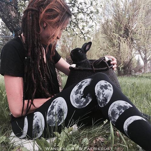 Wanderlust & Faeriedust - 'Bunny Moon' Leggings
