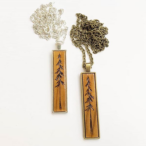 Tiny Timber Designs - Tree Necklace