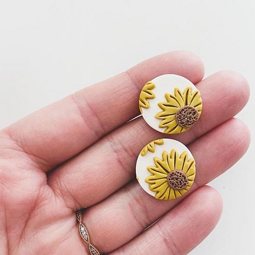 Ember Autumn Co. - Sunflower Studs