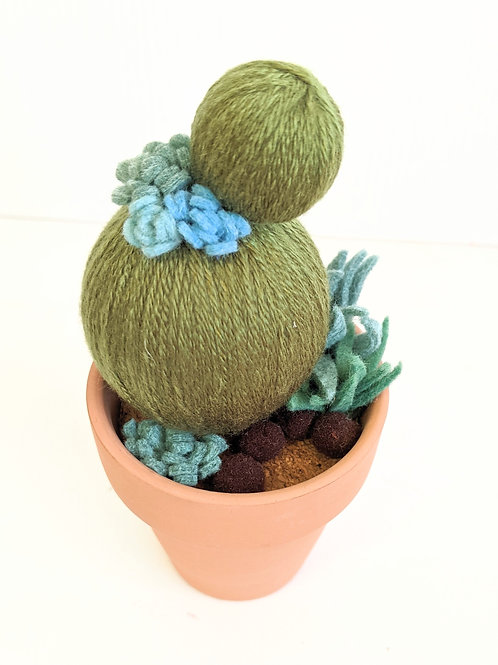 Oh Susannah Makes - Mini Cactus Sculpture