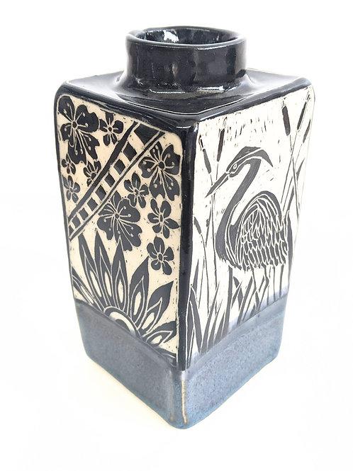 Paulina Beads - Heron Vase