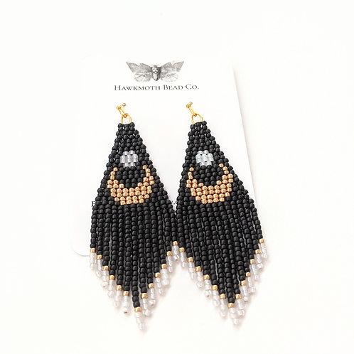Hawkmoth Bead Co. - Beaded Luna Earrings
