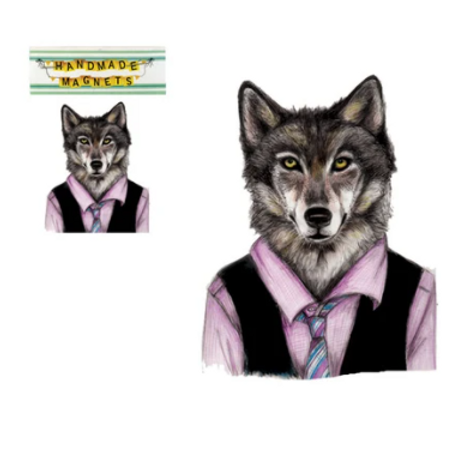 Andrea Hooge - Wolf Magnet