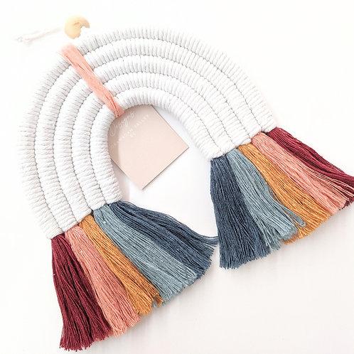 Designs By Boco - XL Macrame Rainbow