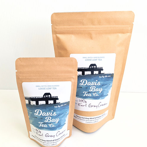 Davis Bay Tea Co. - Earl Grey Cream Tea