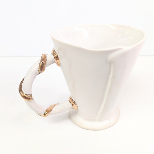 Radical Wondering - Golden Stripe Mug