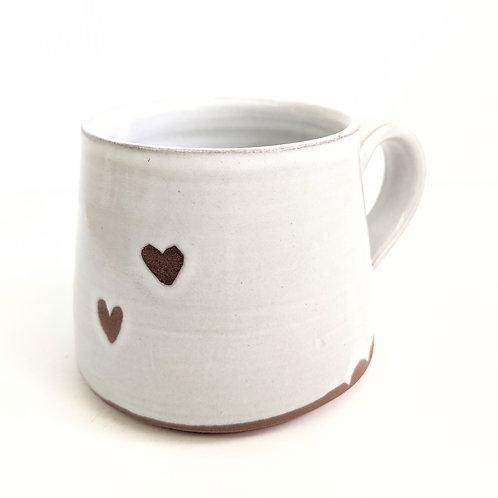Tiny Cat Pottery - Sweetheart Mug