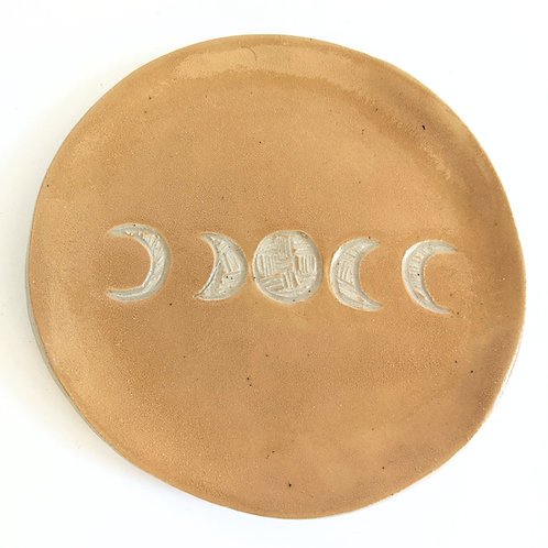 Sarah Anne Faith - Mustard Mini Moon Phases Plate