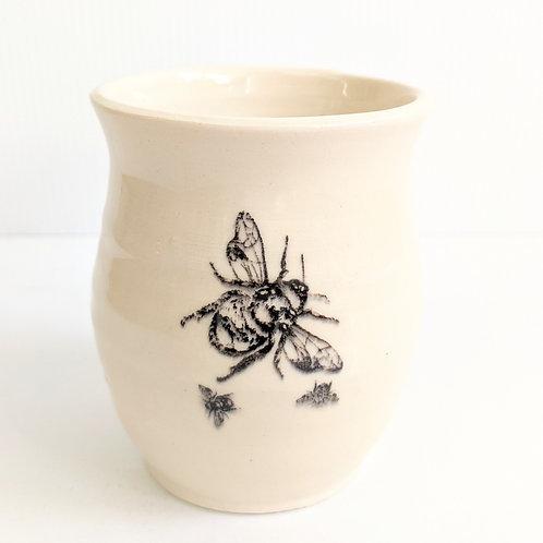 Nancy Blokland Pottery - Bee Tumbler