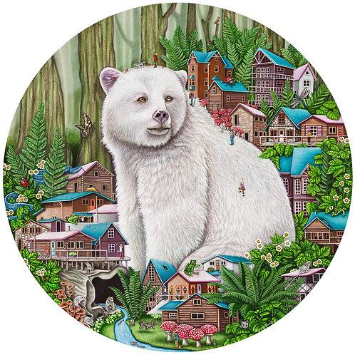 Brandy Masch - Spirit Bear Print