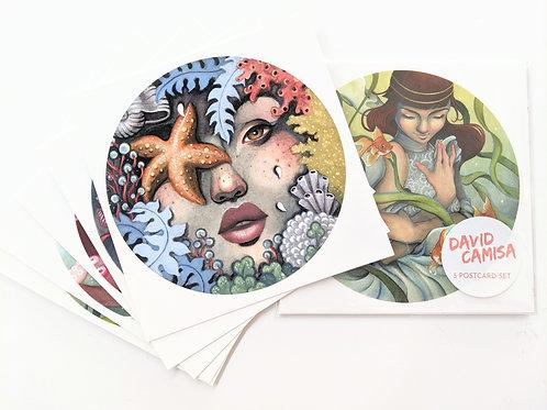 David Camisa - Postcards Set of 5