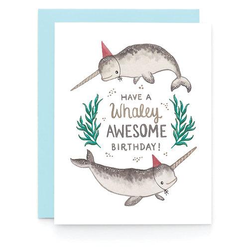 Art + Soul Creative Co. - Whaley Birthday Card