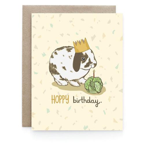 Art + Soul Creative Co. - Hoppy Birthday Card