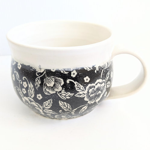 Mowbray Pottery - Floral Mug
