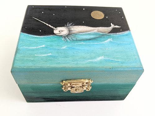 Mia Dungeon - Narwhal Treasure Box