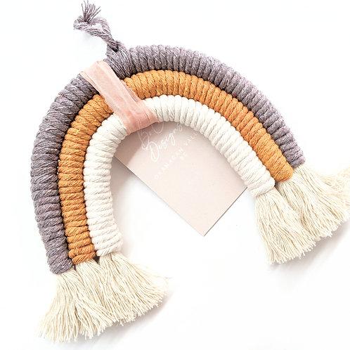 Designs By Boco - Small Macrame Rainbow
