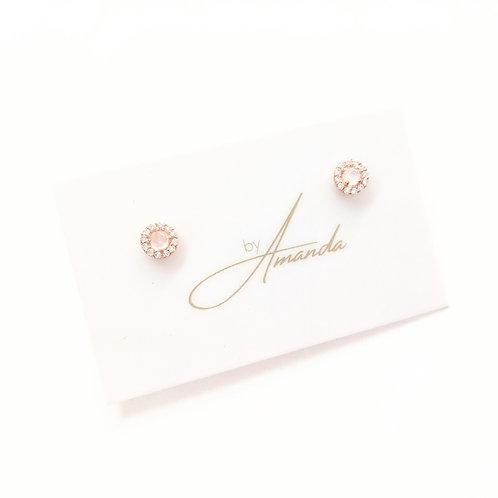 Jewelry By Amanda - Rose Gold Odessa Earrings