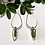 Thumbnail: Flora and Forest - Dangly Silver Fern Earrings