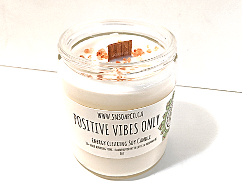 SM Soap Co. - Positive Vibes Only Soy Candle