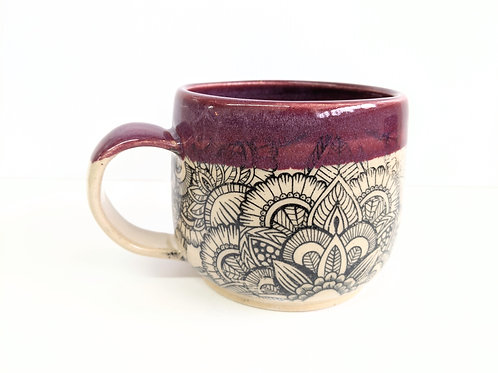 Mowbray Pottery - Mandala Mug