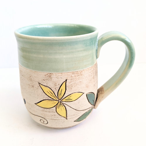 Restless Winds - Mint Vine Mug