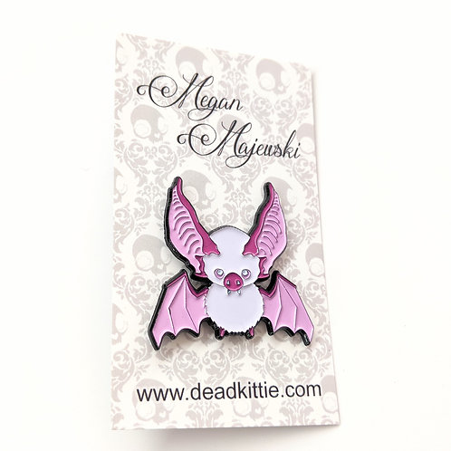 Megan Majewski - 'Radon' Bat Pin