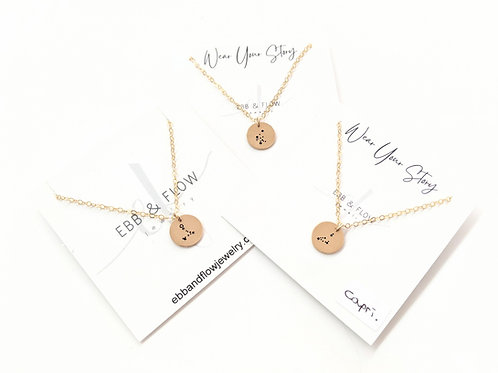 Ebb & Flow Jewelry - Gold Constellation Necklace