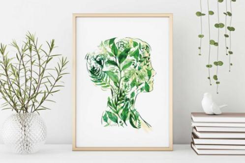 Sarah Clement - Inner Garden Print