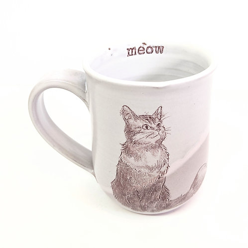Tiny Cat Pottery - Large Le Chat Mug