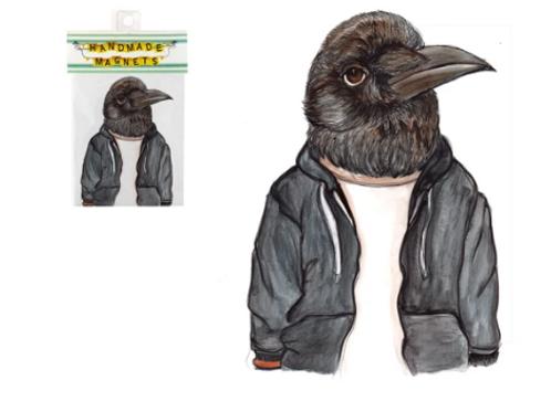 Andrea Hooge - Crow Magnet