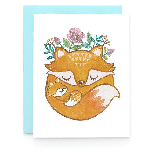 Art + Soul Creative Co. - Mother Fox Card