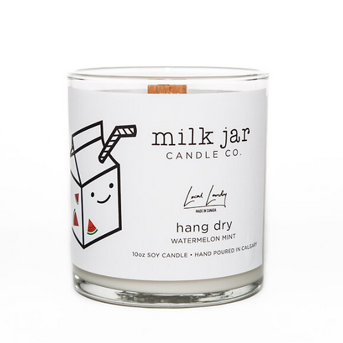 Milk Jar Candle Co. - Hang Dry Candle