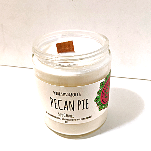 SM Soap Co. - Pecan Pie Soy Candle