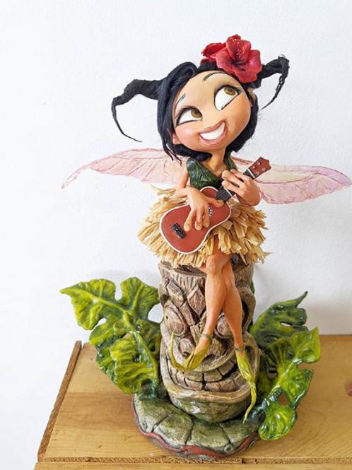 Yuliya McMahon - 'Ukulele Fairy' Sculpture