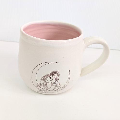 Tiny Cat Pottery - Moonie Mug