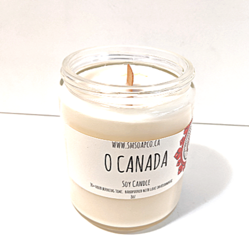 SM Soap Co. - O Canada Soy Candle