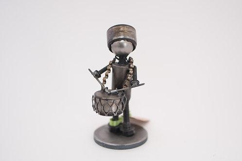 Wingnut Whimsy - Drummer Boy Sculpture