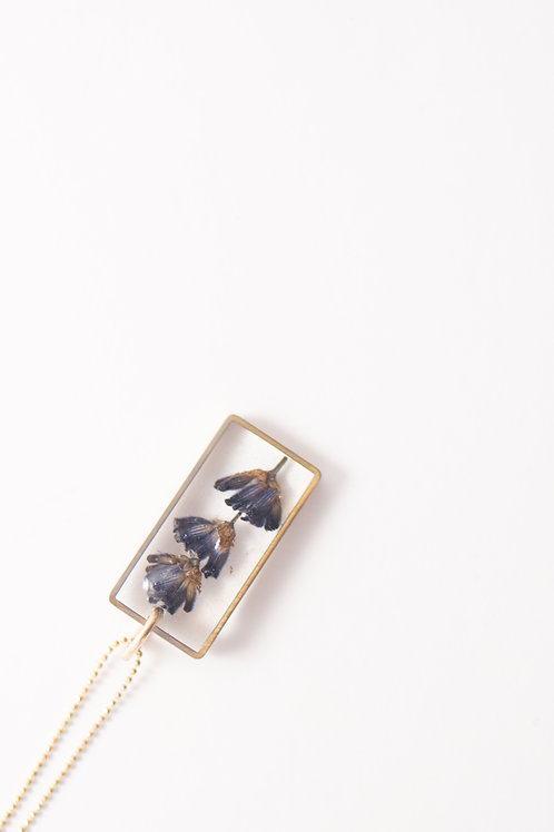 Flora and Forest - Lavender Necklace