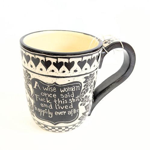 Paulina Beads - A Wise Woman Mug