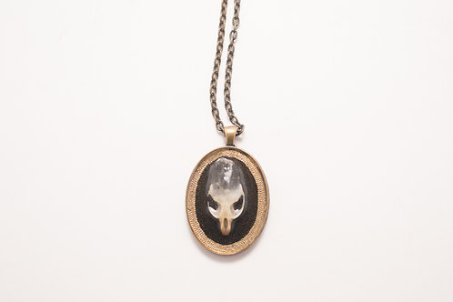 Brutally Beautiful - Rodent Skull Necklace