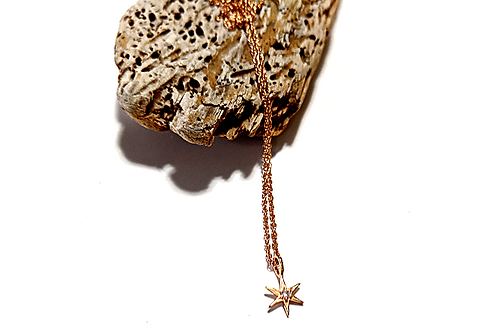 Jewelry By Amanda - Rose Gold Star Necklace