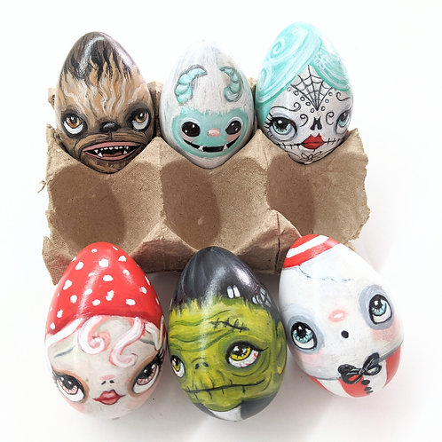 The Poppy Tree - Painted Eggies
