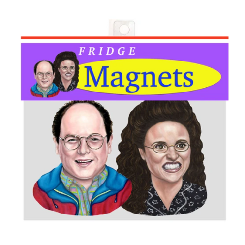 Andrea Hooge - George & Elaine Magnets Pack