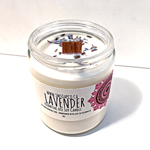 SM Soap Co. - Lavender Soy Candle