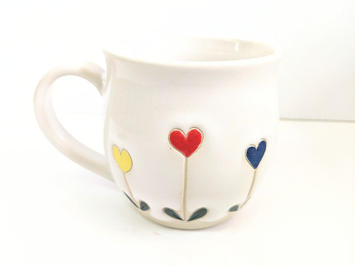Restless Winds - Growing Hearts Mug