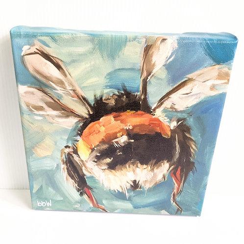 Brandy Wyatt - 'BB' the Bee Canvas Print