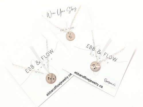 Ebb & Flow Jewelry - Silver Constellation Necklace