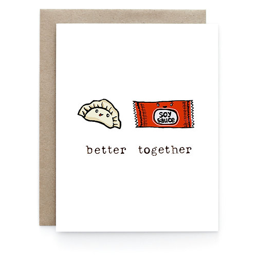 Art + Soul Creative Co. - Better Together Card
